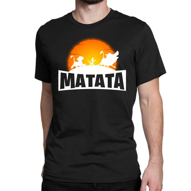Matata Fortnite For Dark Classic T-shirt | Artistshot