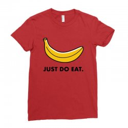 just to eat for light Ladies Fitted T-Shirt | Artistshot