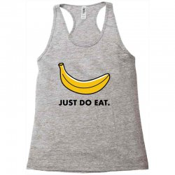 just to eat for light Racerback Tank | Artistshot