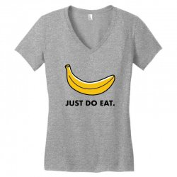 just to eat for light Women's V-Neck T-Shirt | Artistshot