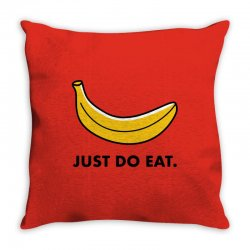 just to eat for light Throw Pillow | Artistshot