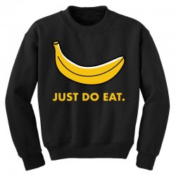 just to eat for dark Youth Sweatshirt | Artistshot