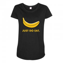 just to eat for dark Maternity Scoop Neck T-shirt | Artistshot
