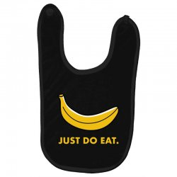 just to eat for dark Baby Bibs | Artistshot