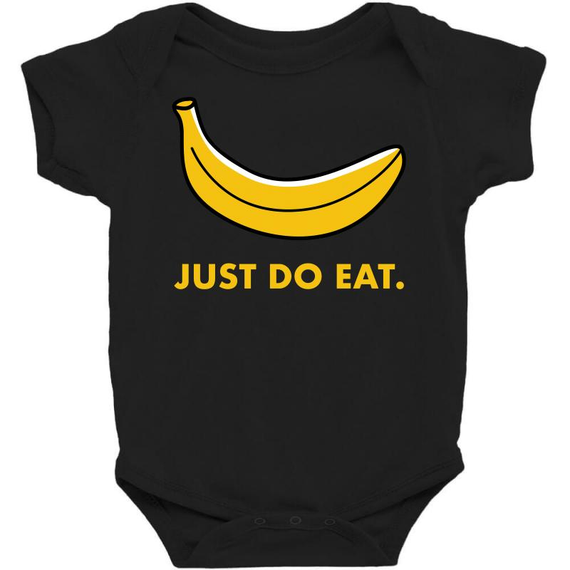 Just To Eat For Dark Baby Bodysuit | Artistshot