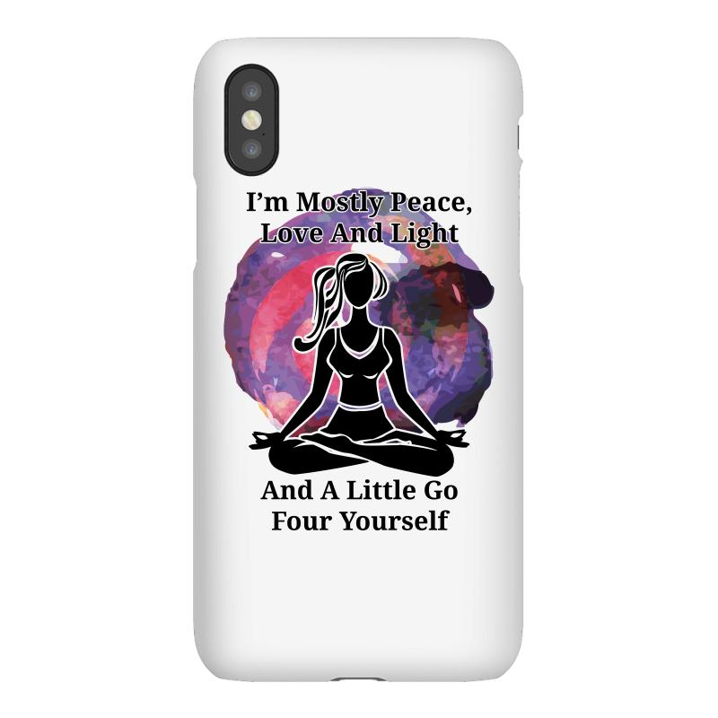 I'm Mostly Peace For Light Iphonex Case | Artistshot