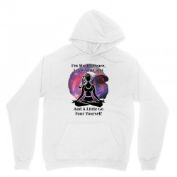 i'm mostly peace for light Unisex Hoodie | Artistshot