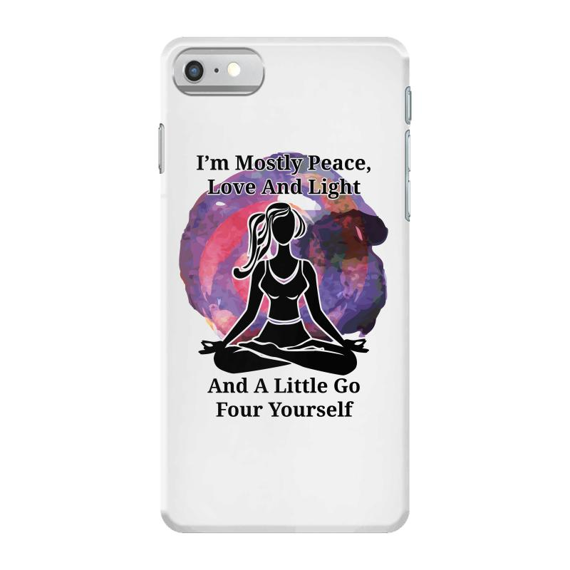 I'm Mostly Peace For Light Iphone 7 Case | Artistshot