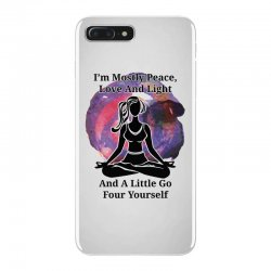 i'm mostly peace for light iPhone 7 Plus Case | Artistshot