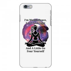 i'm mostly peace for light iPhone 6 Plus/6s Plus Case | Artistshot