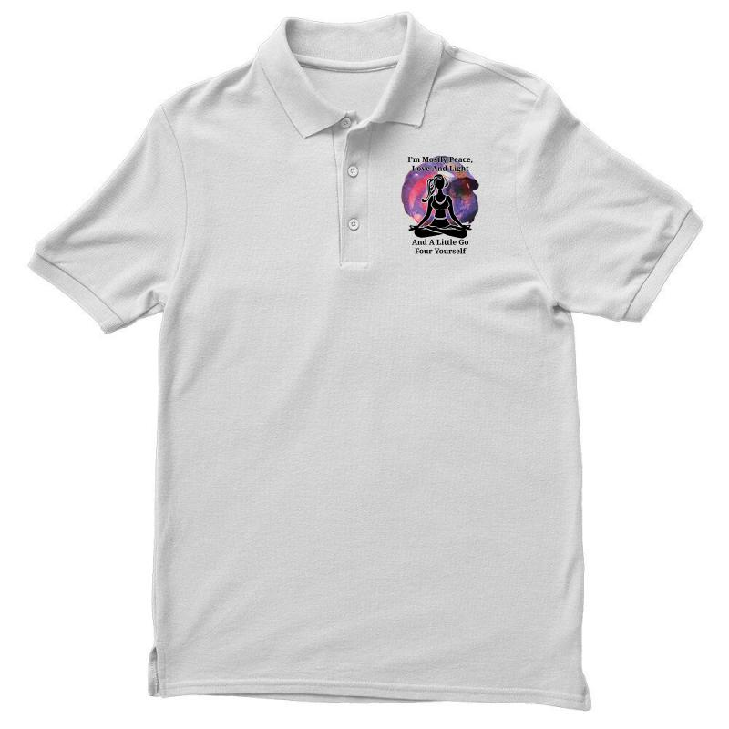 I'm Mostly Peace For Light Men's Polo Shirt | Artistshot