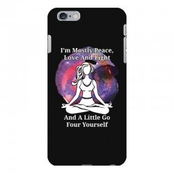 i'm mostly peace for dark iPhone 6 Plus/6s Plus Case | Artistshot