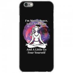 i'm mostly peace for dark iPhone 6/6s Case | Artistshot