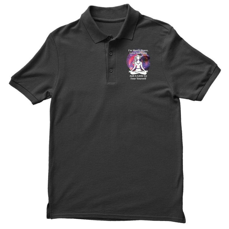 I'm Mostly Peace For Dark Men's Polo Shirt | Artistshot
