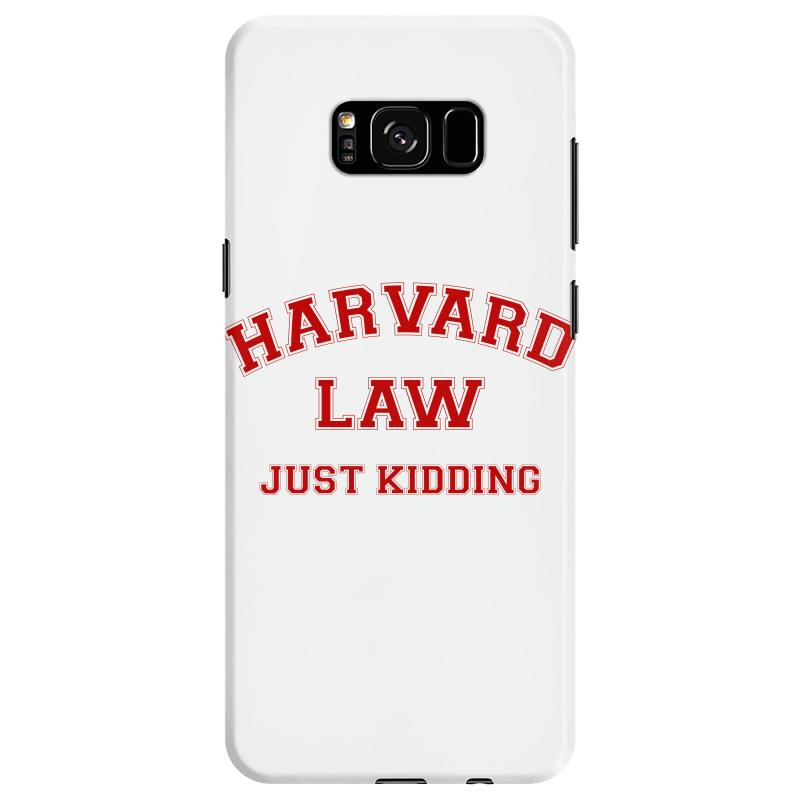 Harvard Law Just Kidding For Light Samsung Galaxy S8 Case | Artistshot