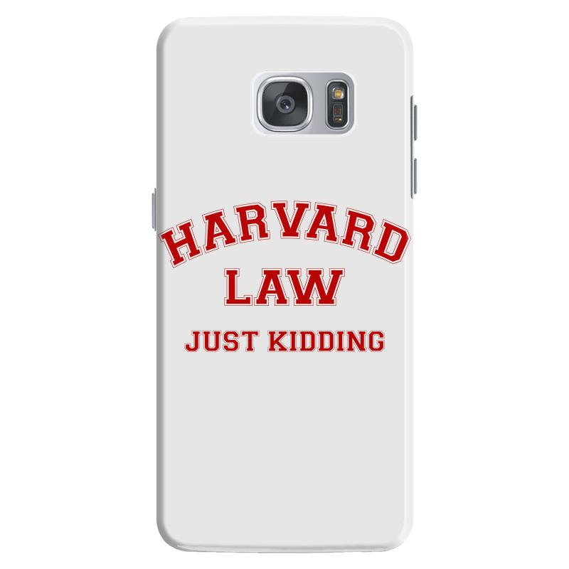 Harvard Law Just Kidding For Light Samsung Galaxy S7 Case | Artistshot