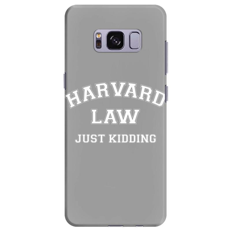 Harvard Law Just Kidding For Dark Samsung Galaxy S8 Plus Case | Artistshot