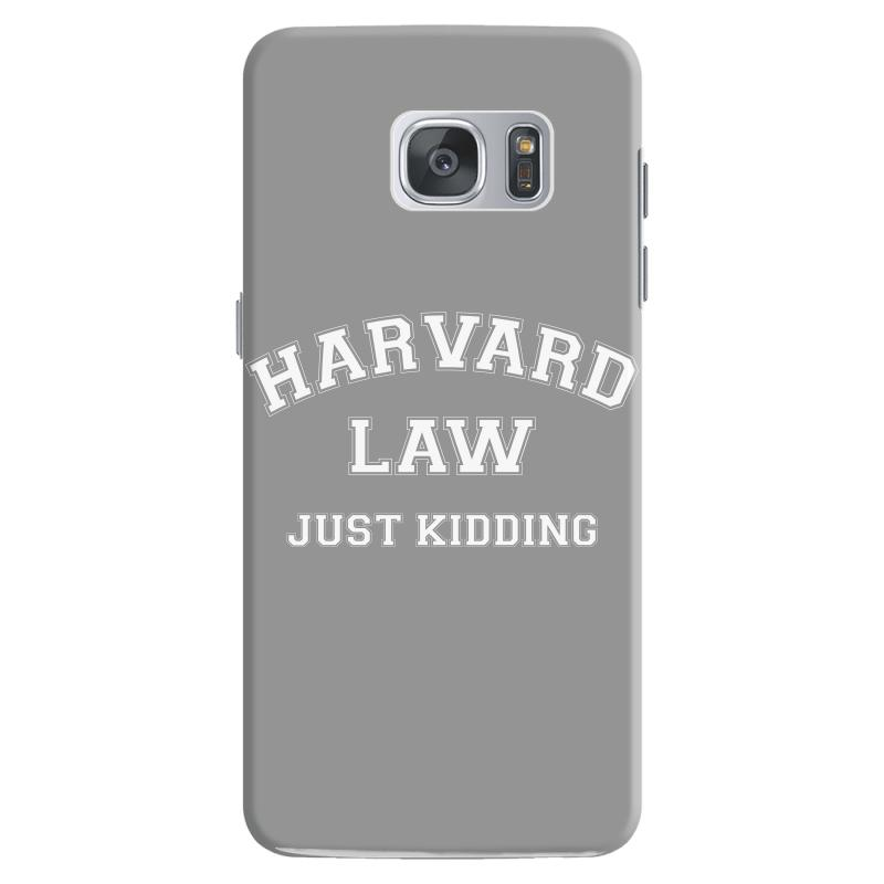 Harvard Law Just Kidding For Dark Samsung Galaxy S7 Case | Artistshot