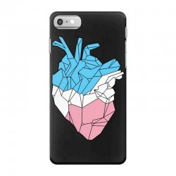 trans heart iPhone 7 Case | Artistshot