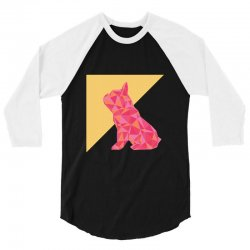 geometric doggy 3/4 Sleeve Shirt | Artistshot