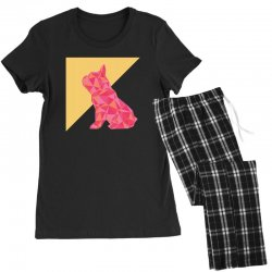 geometric doggy Women's Pajamas Set | Artistshot
