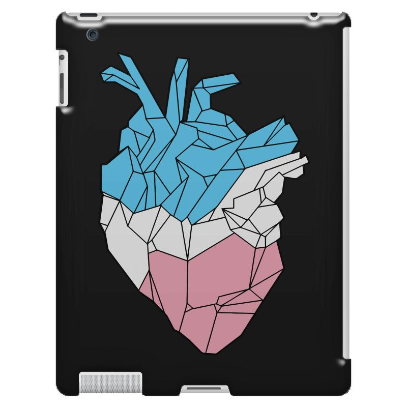 Trans Heart Ipad 3 And 4 Case | Artistshot