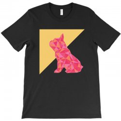 geometric doggy T-Shirt | Artistshot