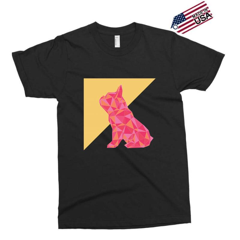 Geometric Doggy Exclusive T-shirt | Artistshot