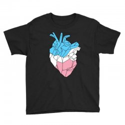 trans heart Youth Tee | Artistshot