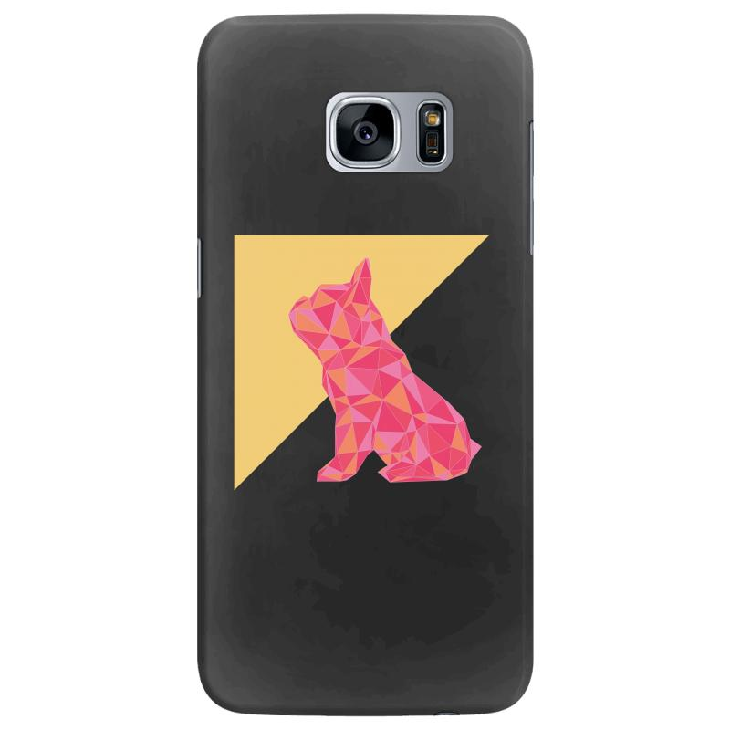 Geometric Doggy Samsung Galaxy S7 Edge Case | Artistshot