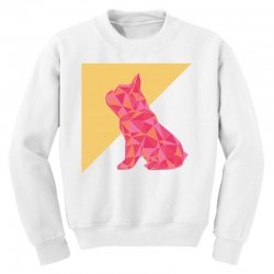 geometric doggy Youth Sweatshirt | Artistshot