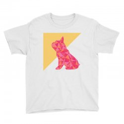 geometric doggy Youth Tee | Artistshot