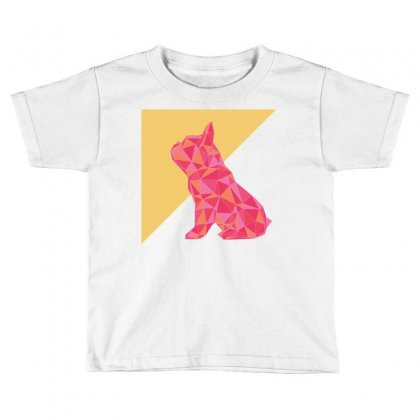 Geometric Doggy Toddler T-shirt Designed By Gurkan