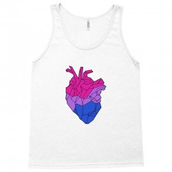 bisexual heart Tank Top | Artistshot