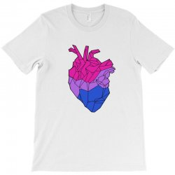 bisexual heart T-Shirt | Artistshot