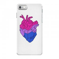 bisexual heart iPhone 7 Case | Artistshot