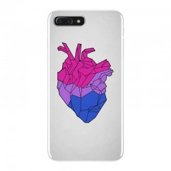 bisexual heart iPhone 7 Plus Case | Artistshot
