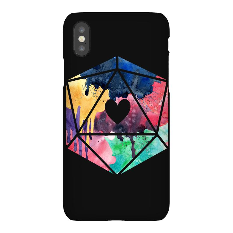 D20 Watercolor Iphonex Case | Artistshot