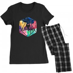 d20 watercolor Women's Pajamas Set | Artistshot