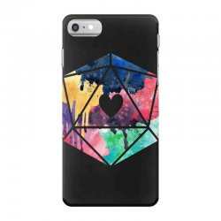 d20 watercolor iPhone 7 Case | Artistshot