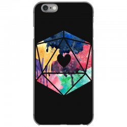 d20 watercolor iPhone 6/6s Case | Artistshot