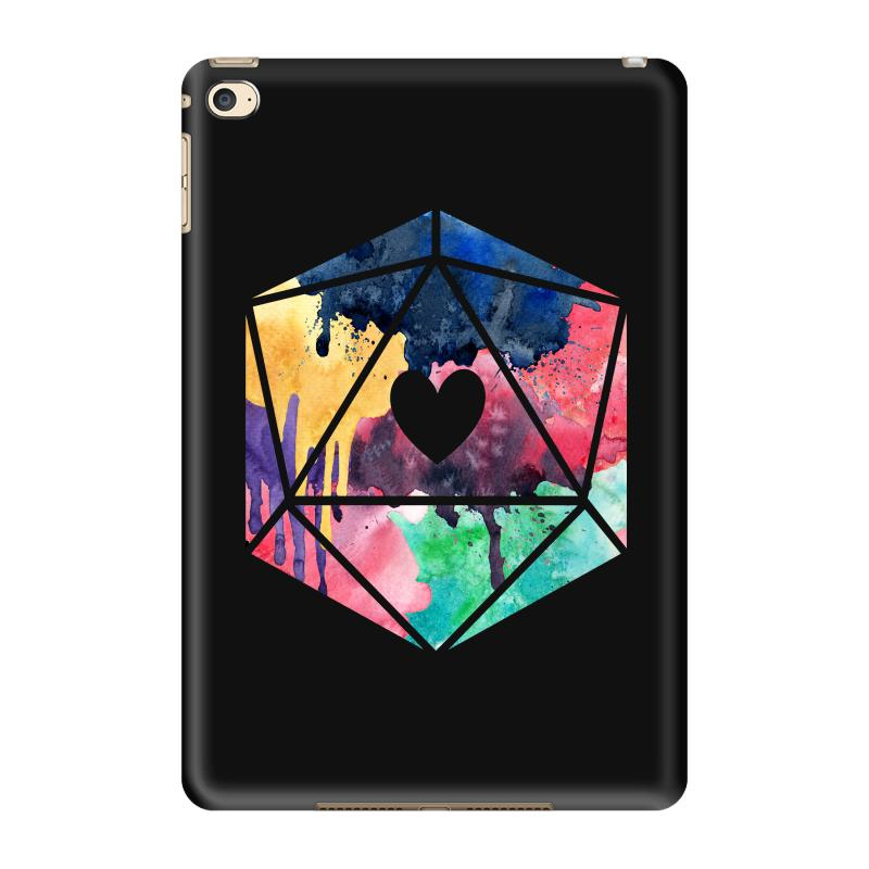 D20 Watercolor Ipad Mini 4 Case | Artistshot