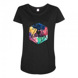 d20 watercolor Maternity Scoop Neck T-shirt | Artistshot