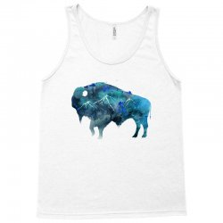 bison watercolor Tank Top | Artistshot