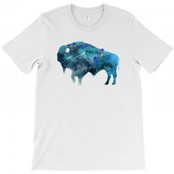 bison watercolor T-Shirt | Artistshot