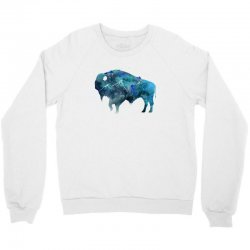 bison watercolor Crewneck Sweatshirt | Artistshot