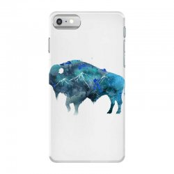 bison watercolor iPhone 7 Case | Artistshot