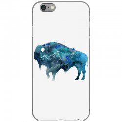 bison watercolor iPhone 6/6s Case | Artistshot