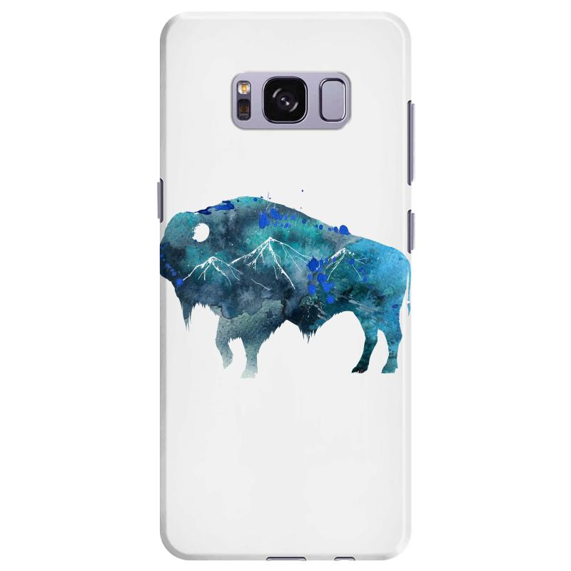 Bison Watercolor Samsung Galaxy S8 Plus Case | Artistshot