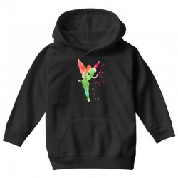 tinkerbell watercolor Youth Hoodie | Artistshot